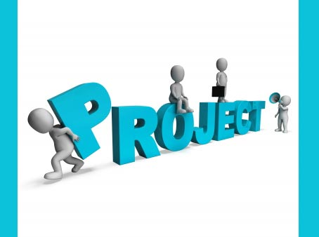 Project management solution added to your website.