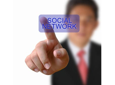 Social networks setup and integration with your website.